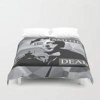 the smiths Duvet Covers featuring WILDE by priscilawho