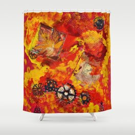There is Nothing Left For You Back There Shower Curtain