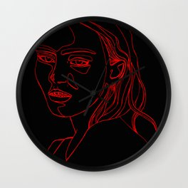 LILY ROSE Wall Clock