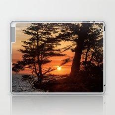 Sunset through the Trees Laptop & iPad Skin