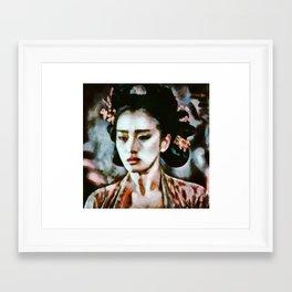 Gong Li Framed Art Print