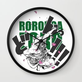 Seppuku Roronoa Zoro Wall Clock