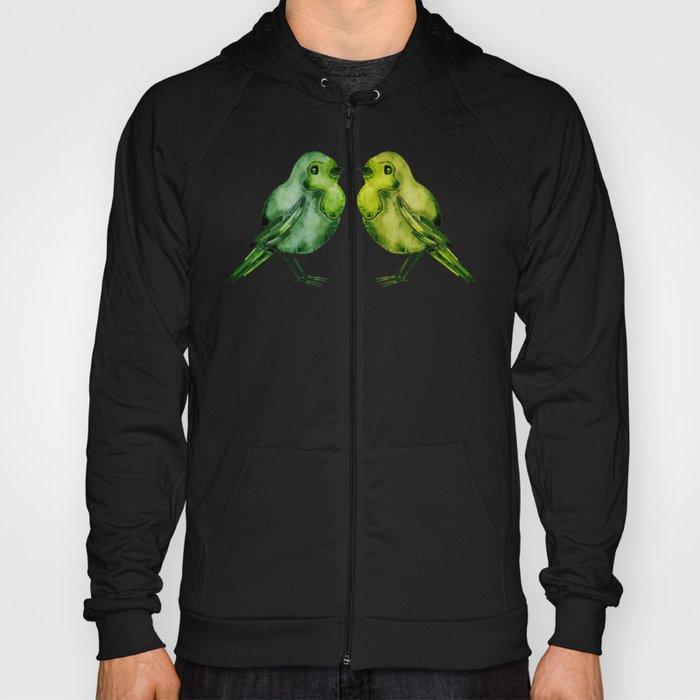 Parakeets Hoody