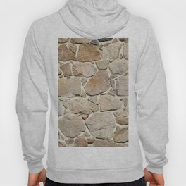 old quarry stone wall Hoody