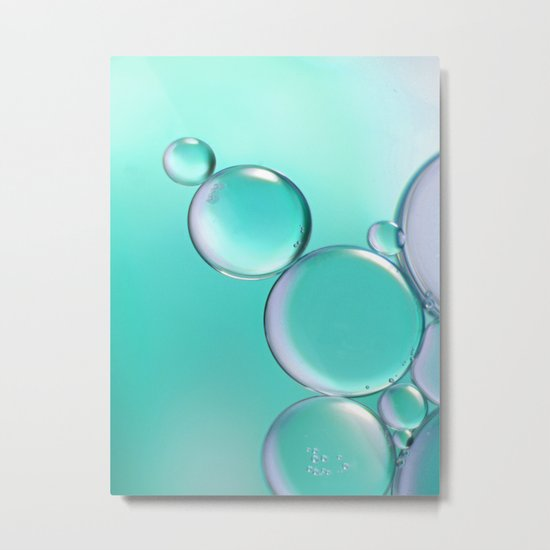 Aquamarine Metal Print