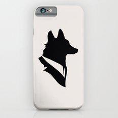 Monsieur Renard / Mr Fox - Animal Silhouette Slim Case iPhone 6s