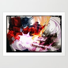 Battle Art Print