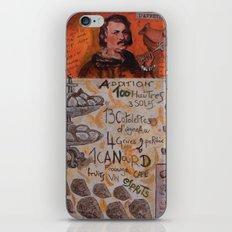 L'appetito di BALZAC iPhone & iPod Skin