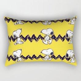 charlie shirt snoopy Rectangular Pillow