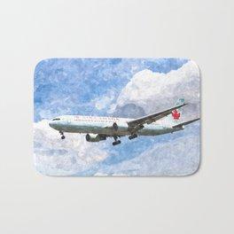 Air Canada Boeing 767 Art Bath Mat