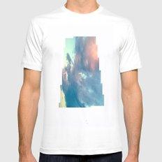 Cloudscape VI Mens Fitted Tee MEDIUM White