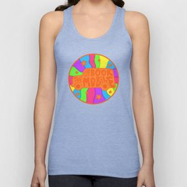 Book Mobile Unisex Tank Top