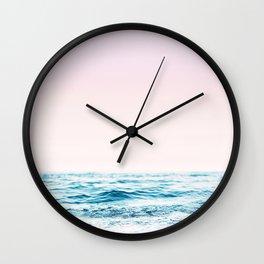 Pink Memories Wall Clock