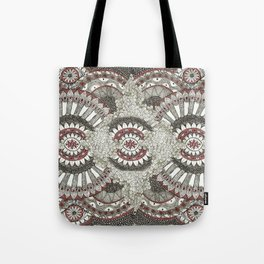 Mandala-la-la Collab Tote Bag