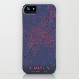 Limoges, France - Neon iPhone Case