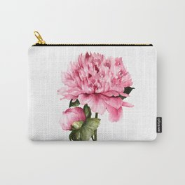 Peony III Carry-All Pouch