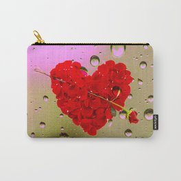 LOVE ON THE RAIN Carry-All Pouch
