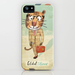 Global Citizen iPhone Case