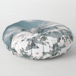 Mount Hood IV Floor Pillow