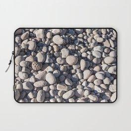 River stones on bank of Oregon river Laptop Sleeve