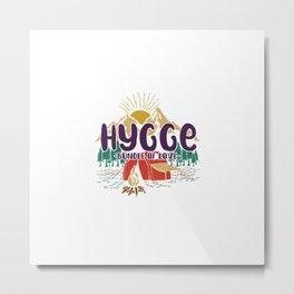 Hygge - Bundle of Love Metal Print