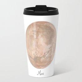 Mars planet Travel Mug