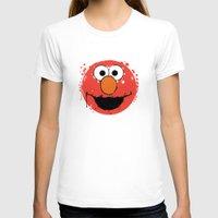 elmo T-shirts featuring Elmo splatt by Firepower