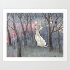 Forest Dawn Art Print