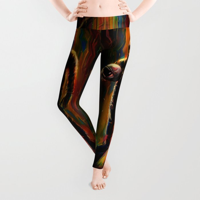 Commander Chimp Leggings