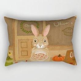 oliver's pies Rectangular Pillow