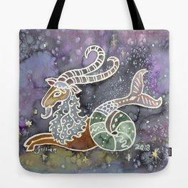 Zodiac Collection: Capricorn Tote Bag