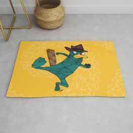 My Perry the Platypus Rug