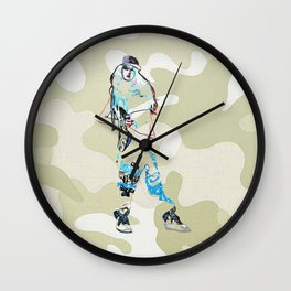 Chloe. Wall Clock