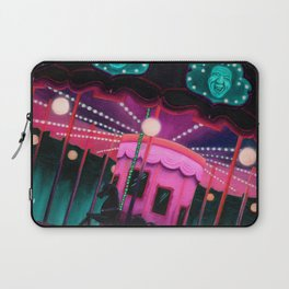 Pink and Purple Carnival Laptop Sleeve
