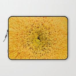 Teddy Bear Sunflower Petals Laptop Sleeve