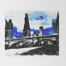 Southbank London 1 Throw Blanket