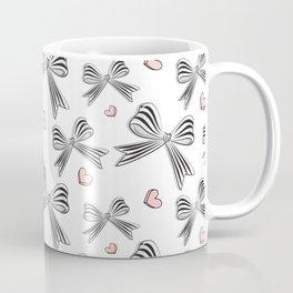 Pink bow heart Coffee Mug