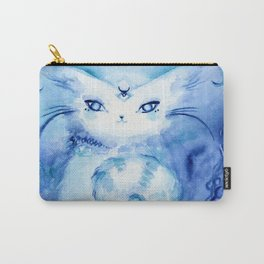Serena Cat : Peace Carry-All Pouch