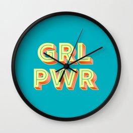 GRL PWR no2 Wall Clock