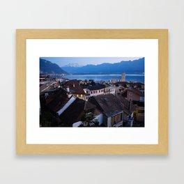 Montreux Framed Art Print