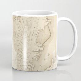 Vintage Map of Charlestown MA (1906) Coffee Mug