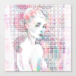 diver of sound Canvas Print