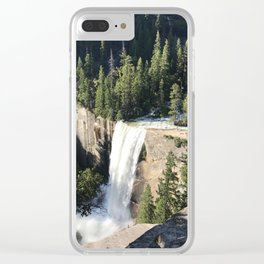 Vernal Falls Clear iPhone Case