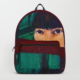 AT THE WINDOW Backpack