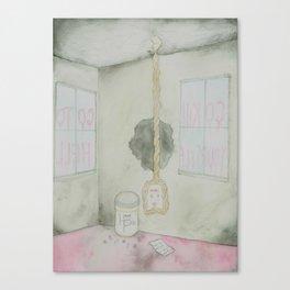 A Little Dark in Here Canvas Print