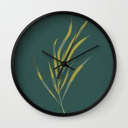 Growing at the sun Wall Clock