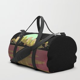 Lightning Strike City Duffle Bag