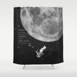 Set your location Shower Curtain