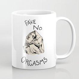 Fake No Orgasms Coffee Mug