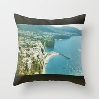 italy Throw Pillows featuring Italy  by Taylor Palmer